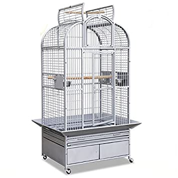 Montana Cages Loro jaula New Heidelberg - Platinum: Amazon.es ...