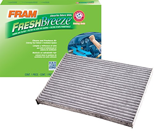 FRAM CF10550 Fresh Breeze Cabin Air Filter with Arm & Hammer