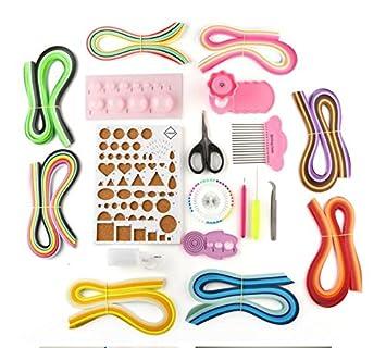 Papier Quilling Kits Mit Set Zum Basteln Mit Papierstreifen Zangen