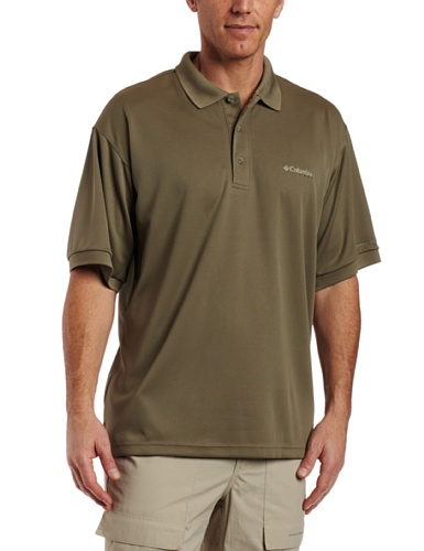 Columbia Men's Perfect Cast Polo, Sage, Medium
