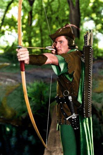 The Adventures Or Robin Hood Errol Flynn publicity still poster Rare
