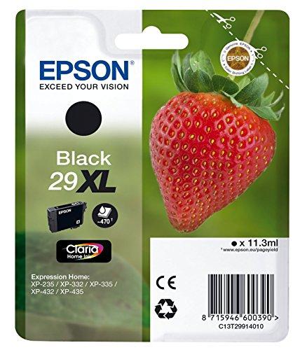 Epson 29XL Ink Cartridge Black