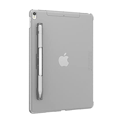 huge discount 472c8 28e16 SwitchEasy CoverBuddy Pencil Holder Back Cover for iPad Pro 10.5-inch  (Compatible with Smart Keyboard, Smart Cover and Apple Pencil), Translucent  ...
