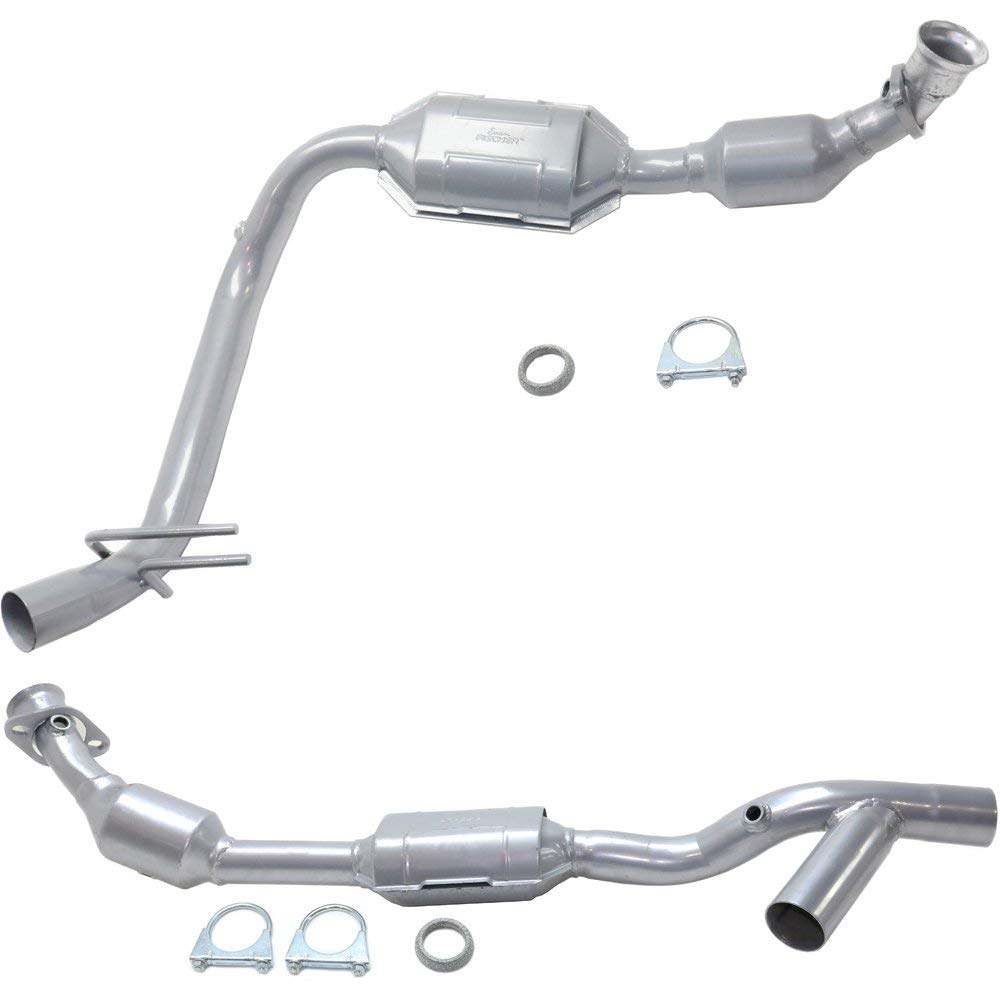 Catalytic Converter compatible with 98 Lincoln Navigator 2 Sensor Ports Set of 2