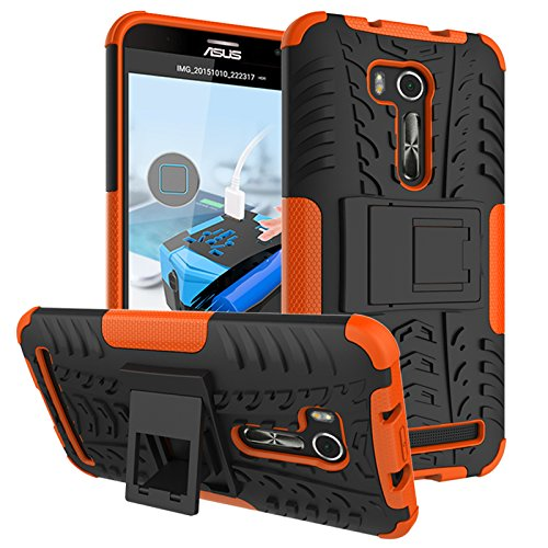 Slim Armor Hard Case for Asus Zenfone Go 5.5 ZB551KL (Black) - 2