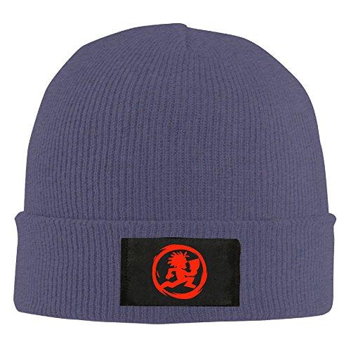 UglyBee Unisex Hatchetman Icp Knitted Wool Beanie Skull Caps (Reversible Skully Hat)