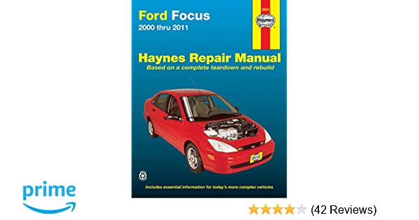 ford focus 2000 2011 repair manual haynes repair manual haynes rh amazon com 2003 ford focus zx3 repair manual 2003 Ford Key