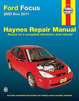 ford focus 2000 2011 haynes repair manual paperback amazon co rh amazon co uk 2000 Ford Focus Wiring Schematic 2000 Ford Focus 2.0 Engine