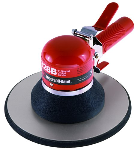 Ingersoll Rand Air Pad - Ingersoll-Rand 328B Heavy Duty Air Geared Orbital Sander - 8-Inch Pad