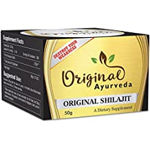 ORIGINAL SHILAJIT | 3 Months Supply | 50g, Pure, Organic and Most Potent Herbal Supplement to Detoxify Body, Boost Immunity, Increase Libido, Destroy Weakness and Improve Healthy Ageing