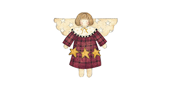 Crafts Wallies Wallpaper Cutouts Scrapbooking 25 Debbie Mumm Wallies 12938 Star Angel