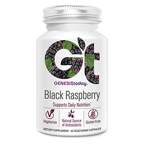 Genesis Today, Black Raspberry 800mg, 60 Vegetarian Capsules