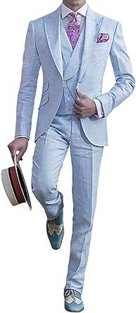Judi Dench Trajes de Hombre Blazer de 3 Piezas Chaleco de Traje ...