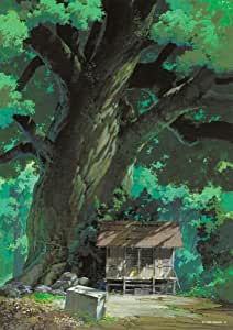 's 108-247 and 108 Piece Studio Ghibli background art series camphor (japan import)