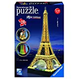 Ravensburger Eiffel Tower-Night Edition-3D Puzzle (216-Piece)