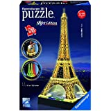 Ravensburger Eiffel Tower - Night Edition - 3D Puzzle (216-Piece)