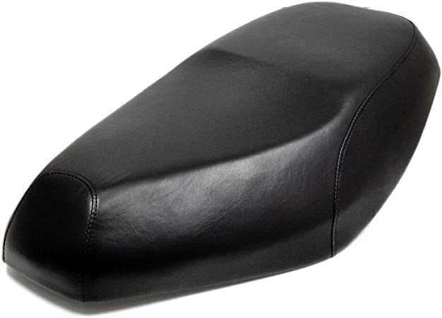 Premium Seat Cover Black for Small Gas Scooters Tao Tao VIP 50 Miami 50 and others 50cc