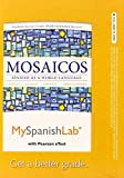 MySpanishLab with Pearson EText -- Access Card -- for Mosaicos 6th Edition