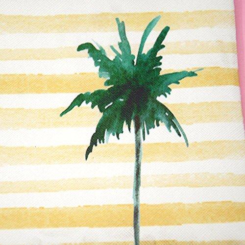 Tree Coconut Powlance pour taille Coconut Pochette femme Tree unique w0qOP0