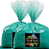 Color Powder Teal 50lbs - (Two 25lb bags) Ideal for color run events, youth group color wars, Holi events and more! Purple, Blue, Green, Yellow, Orange, Pink and Red Available