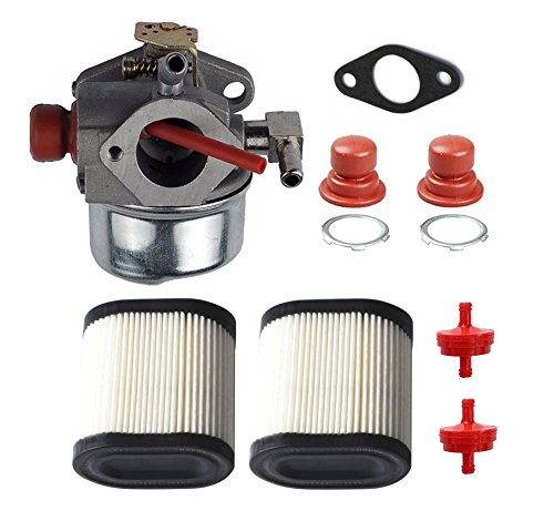 - Podoy LEV120 Carburetor for Tecumseh 640350 LV195EA with 36905 Air Filter Fuel Filter Gasket Primer Bulb LEV100 LEV105 640303 640271 Carb