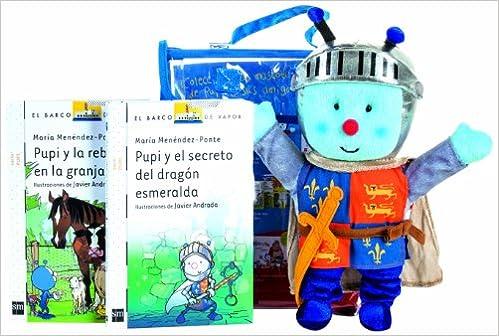 Pack Pupi Caballero + Muñeco Barco de Vapor Blanca: Amazon.es ...