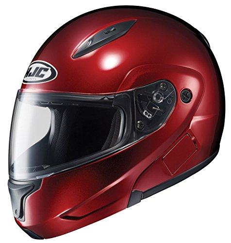 Wine Cl Max Hjc (HJC CL-MAX II 2 - Full Face Flip-Up Modular Street Helmet - Metallic Wine - MD)