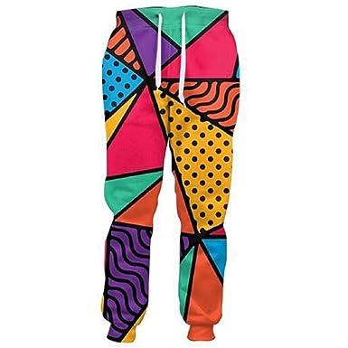 Baochunli Pantalones para Hombre 3D Pizza Pantalones De CháNdal ...