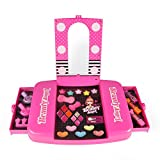 Fashion Makeup Light Up Beauty Vanity Cosmetic Set with Mirror