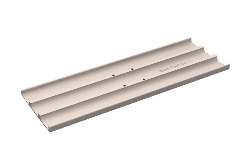 Bon 12-227 24-Inch by 8-Inch Square End Magnesium Concrete Bull Float