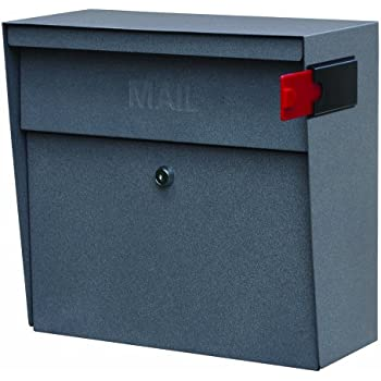 Mail Boss 7161 Metro Locking Wall Mount Mailbox Security