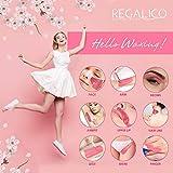 Waxing Kit for Women, Regalico Wax Warmer with 4