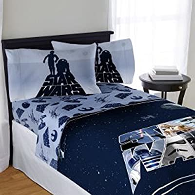 Star Wars Kids Disney Bedding Full Sheet Set