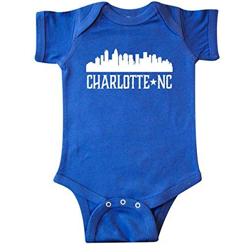 inktastic - Charlotte North Carolina Infant Creeper 12 Months Royal Blue 29b1a