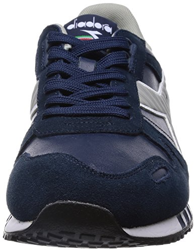 Diadora Heren Titan Leder L / S Loopschoen Blue Denim