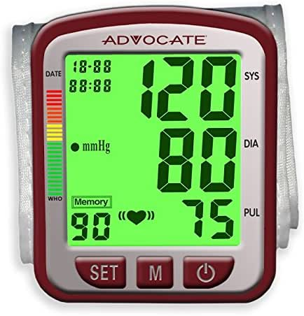 Advocate Speaking Wrist Blood Pressure Monitor, 8.66 Ounce