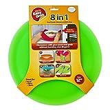 Micro Easy Grab As Seen on Shark Tank: Multi-Purpose Silicone Microwave Mat, BPA Free Kitchen Tool (LIME, 12' SINGLE)
