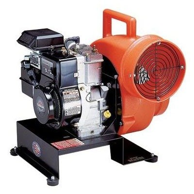 Confined Space Blower, Gasoline, 19 In.