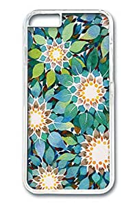 iPhone 6 Cases - Custom Design Covers for iPhone 6 PC Clear Cover - Green Flowers