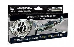 Vallejo RLM II Set Model Air Paint, 17ml by MMD Holdings, LLC