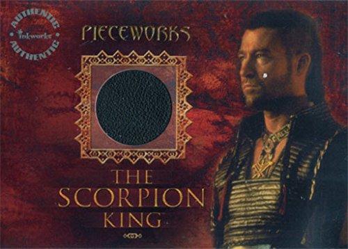 Scorpion King Costume Wardrobe Relic Card PW-3 Steven Brand -