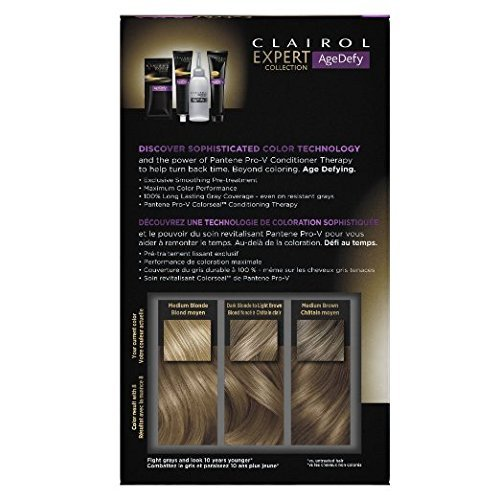 Clairol Age Defy Med Blnd Size 1kit Clairol Age Defy Medium Blonde #8 1kit