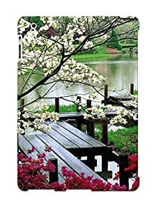 For Ipad Case, High Quality Japanese Garden For Ipad 2/3/4 Cover Cases / Nice Case For Lovers' Gifts