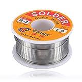 100g 6337 45FT 1mm Tin Lead Solder Flux Soldering Welding Iron Wire Reel