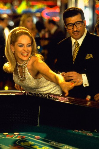 Sharon Stone 24x36 Poster Casino at craps table