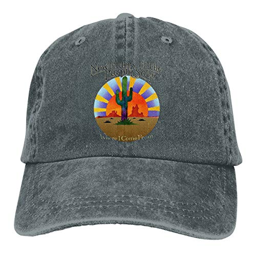 (Digitwhale New Riders of The Purple Sage Where I Come from Men's & Women Pigment Dyed Hat Adjustable Deep Heather)