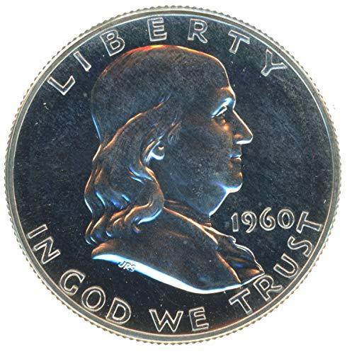 1960 P Silver Franklin Half Dollar 50¢ Proof (Franklin Silver Proof)