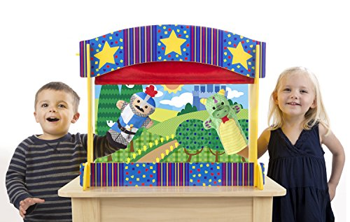 Buy melissa doug puppet theatre