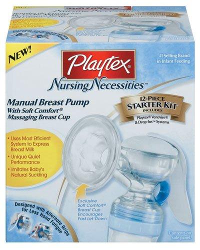 Playtex manual breast pump starter kit | kaboutjie.
