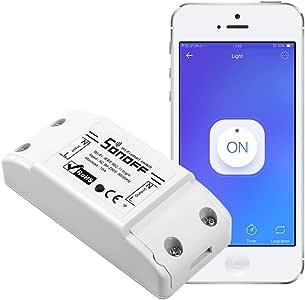 Sonoff Basic WiFi Wireless Smart Remote Switch Home Automation Plug Module